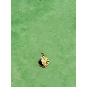 ciondolo boliviano sole e luna