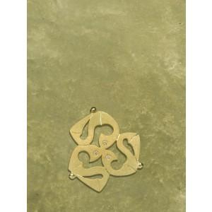 ciondolo fibula celtica