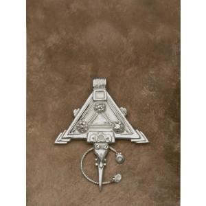 ciondolo marocco ornamento triangolare