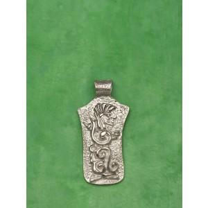 ciondolo maya serpente piumato