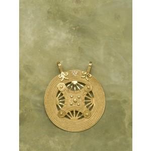 ciondolo scudo celtico