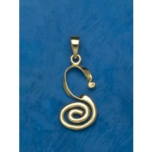 ciondolo spirale romano